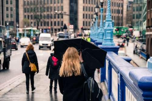 Walking in London