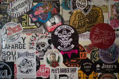 Barber stickers