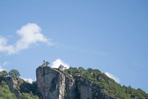 Church on mountain top