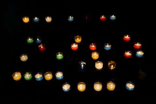 Candles in formation