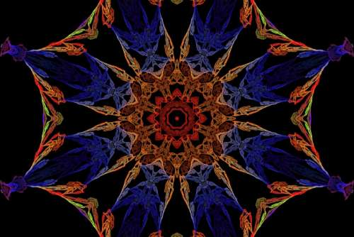 kaleidoscope design 5