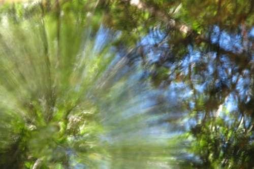 radiating water texture