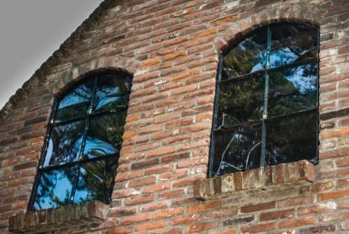 Old industry windows