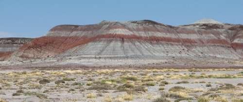 Petrified Forest mesa