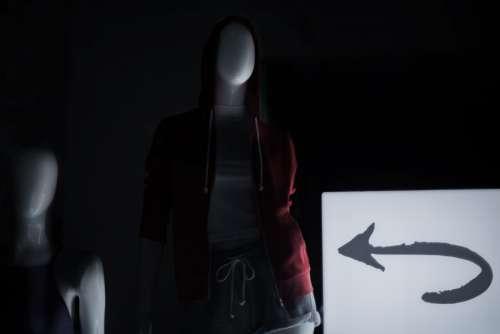Mannequin silhouette