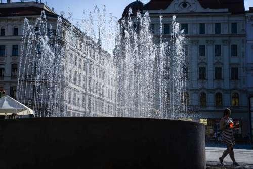 Fountain in Brno