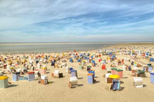 Borkum beach
