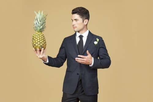 Trying My Charm On The Pineapple First