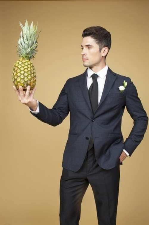 Trying My Man's Charm On The Ananas First