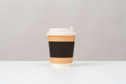 Plastic Cup For Hot Drinks With A Lid