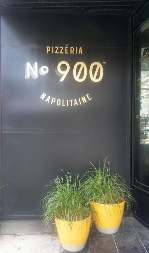 Restaurant Pizza Potted Plants Numbers 9900