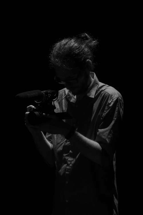 camera man shadow lights backstage