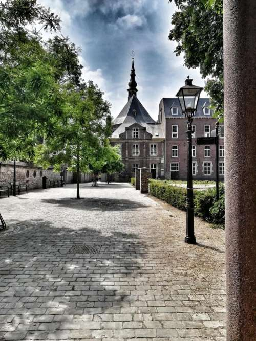 town old town Sittard Limburg Netherlands