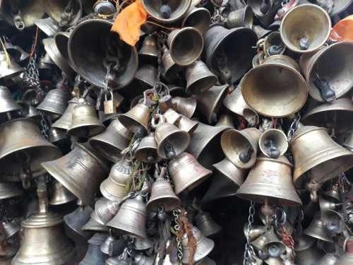 Nepal Asia bells temple religion