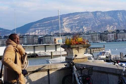 Europe Switzerland Geneva scenic city