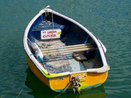 boat water harbor dream sailing