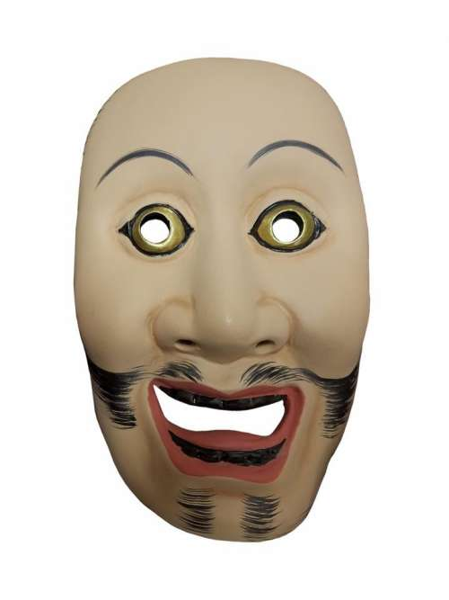 mask NOH Japanese theater face