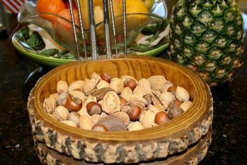 nuts fruit healthy eating vegetarian vegan diet