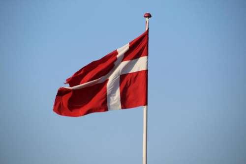 flag denmark Danish flag cross red
