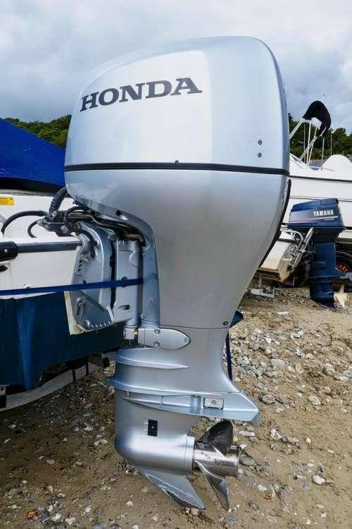 outboard motor boat propellor Honda
