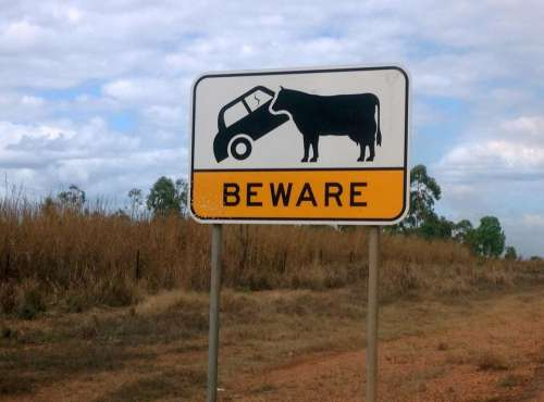 agriculture road sign sign signs Australia