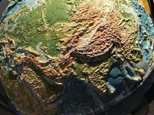 World earth planet globe