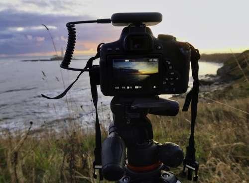 st marys lighthouse camera northumberland whitley bay canon
