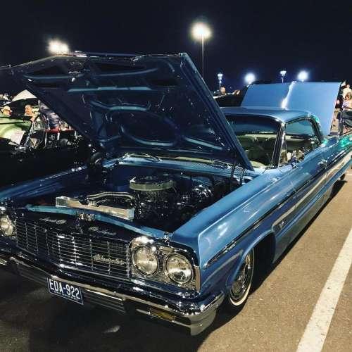 blue car auto automobile transportation