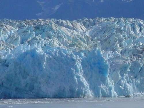 Alaska Iceberg Blue Cold Ice
