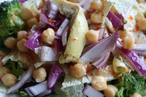 healthy eating clean eating salad vegetables nutritarian diet