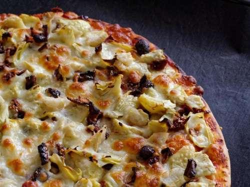 food pizza vegetable cheese Italian cheese