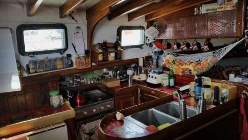 Below Deck Kitchen Galley Galley Kitchen Boat