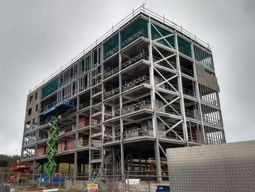 milton gate.construction site building hotel marriot construction