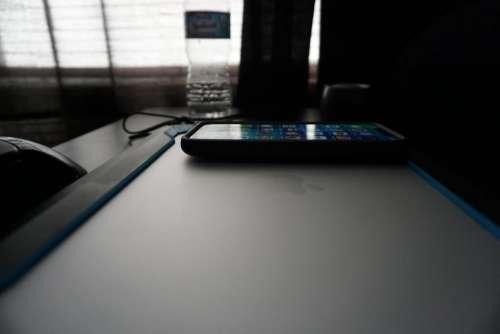 electronics desk desk top phone