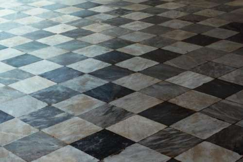 diamonds floor geometric gray design