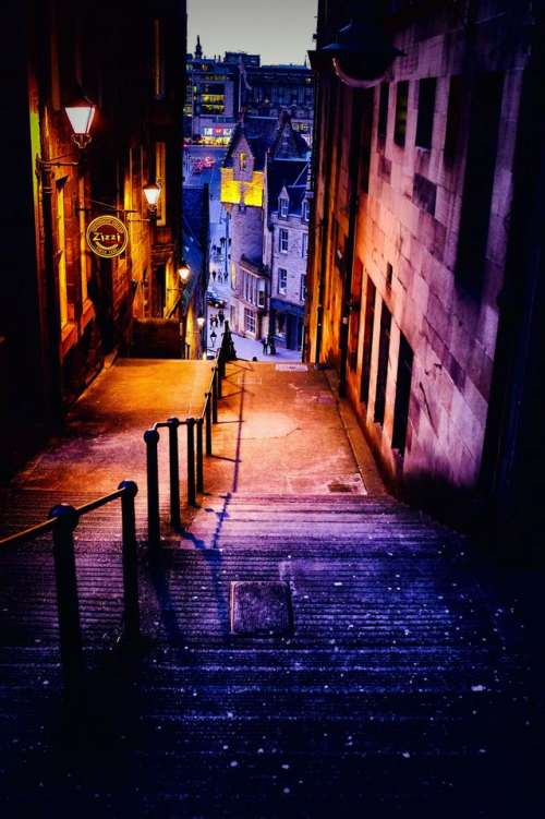 edinburgh scotland darkedinburgh night lights