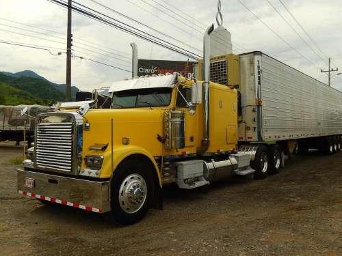 truck trucks vehicle big truck
