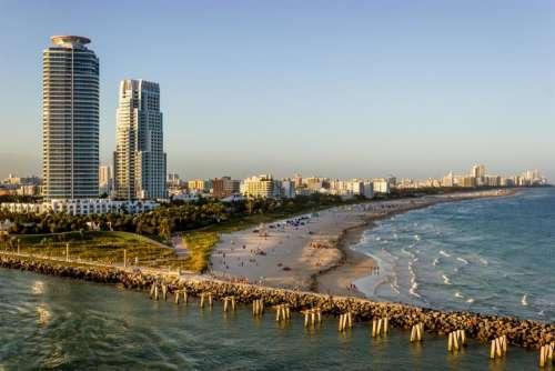 South Beach Miami Florida beach ocean