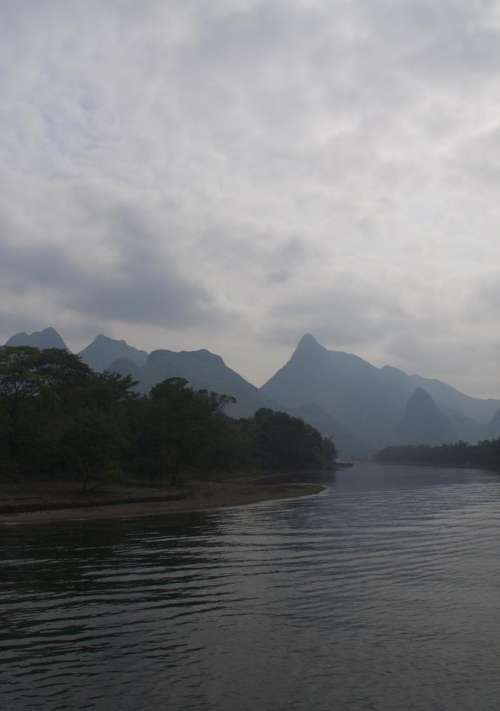 Li Jiang River Li River River China Guilin