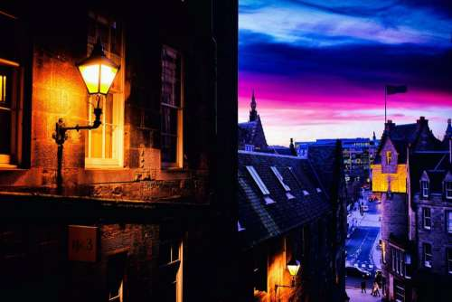 edinburgh scotland darkedinburgh night lights