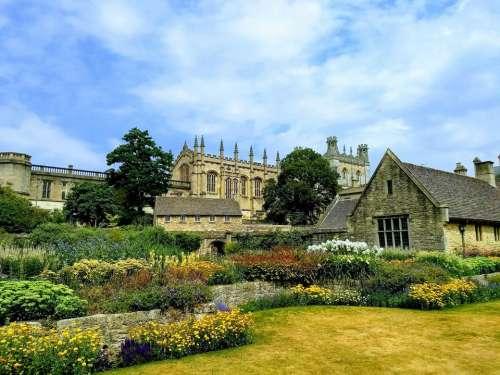 christchurch oxford gardens college oxford university
