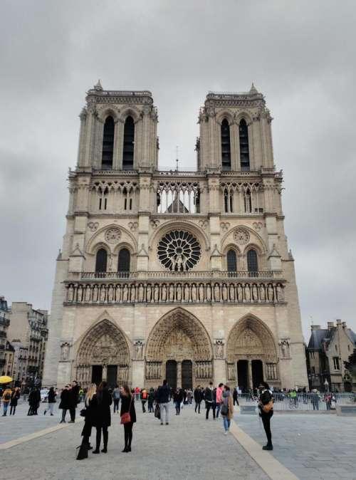 Notre Dame Paris church