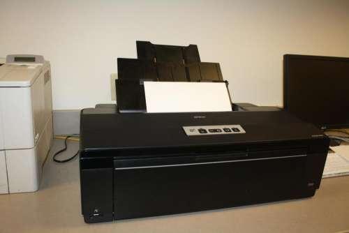 inkjet printer office supplies old printer