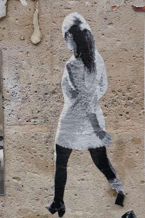 Street art graffiti paris marais