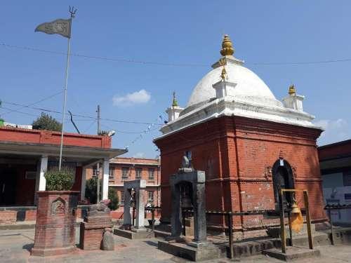 shrine Nepal Asia architecture Eastern