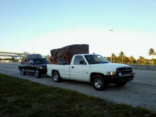 pickups trucks haulage cargo