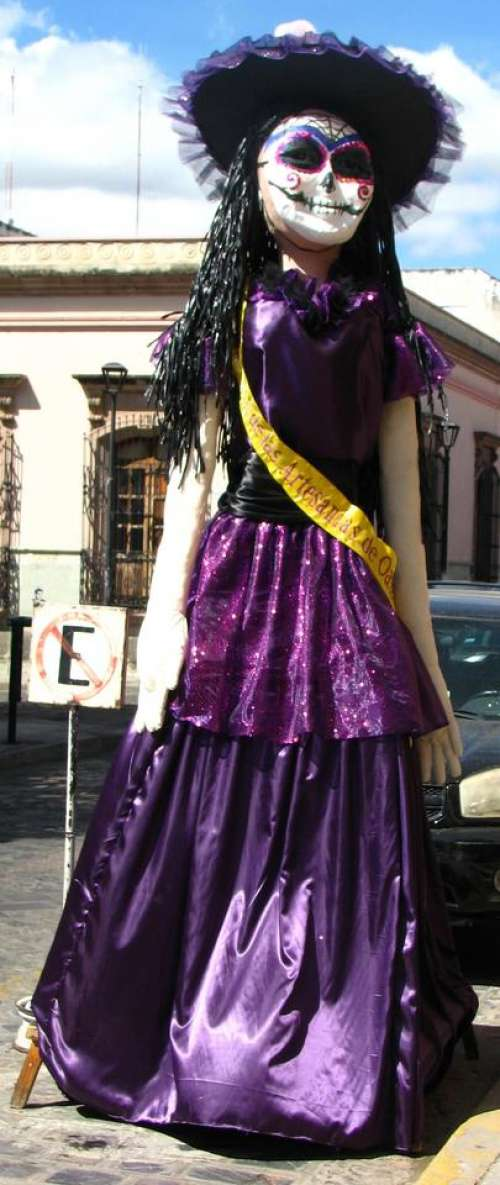 Catrina Day of the Dead Mexico Oaxaca woman