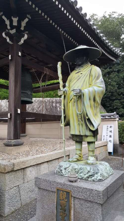stone statue japan travel trip