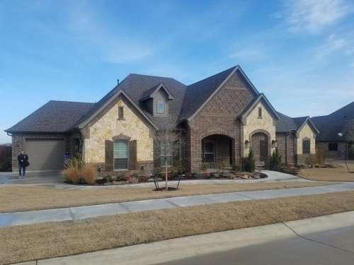 House home real estate suburbs Texas