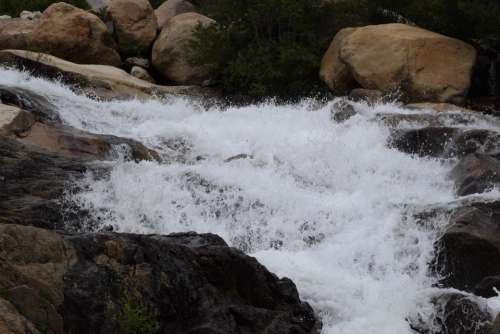 rocky mountain national park RMNP landscape waterfall alluvial fan